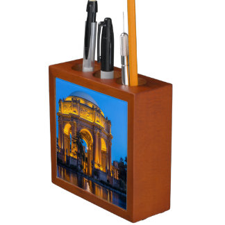 The Palace Of Fine Arts At Dawn Desk Organiser