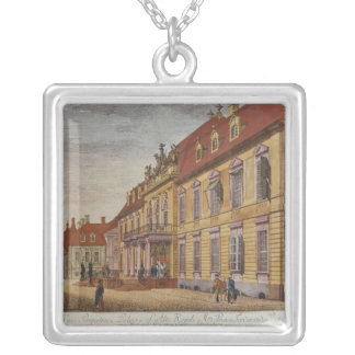 The Palace of Prince Ferdinand of Prussia Silver Plated Necklace