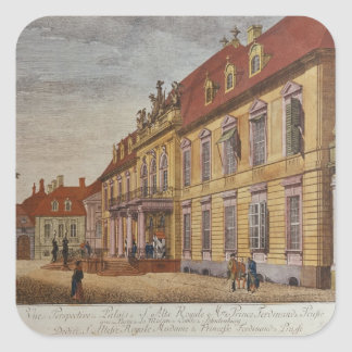 The Palace of Prince Ferdinand of Prussia Square Sticker
