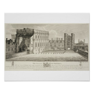The Palace of Whitehall, from a drawing in the Pep Poster