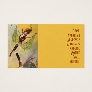 The Palace Theatre of Varieties Business Card