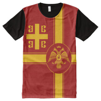 The Palaiologos Dynasty of the Byzantine Empire All-Over Print T-Shirt