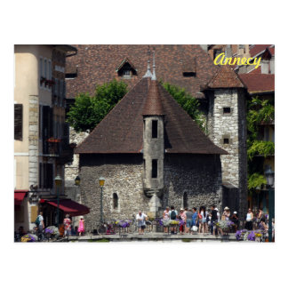 The Palais de l'Isle in historic Annecy, France Postcard