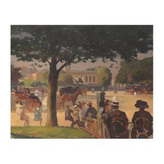 The Palais Rose, Paris Wood Print