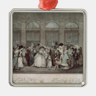The Palais Royal Gallery's Walk, 1787 Christmas Ornament