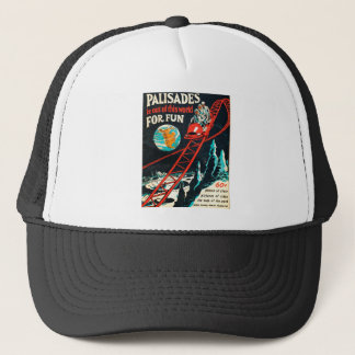 The Palisades vintage poster Trucker Hat