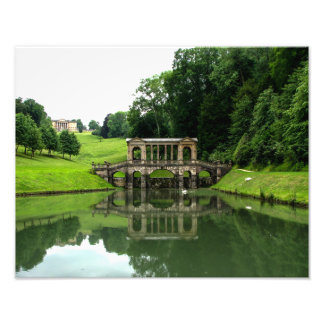 The Palladian Bridge in Prior Park - Photo Print