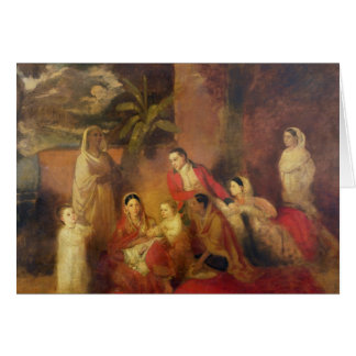 The Palmer Family, 1785 Card
