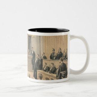 The Panama Trial Two-Tone Coffee Mug