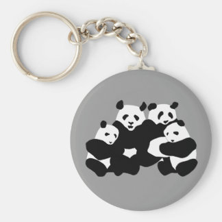 The Panda bear Key Ring
