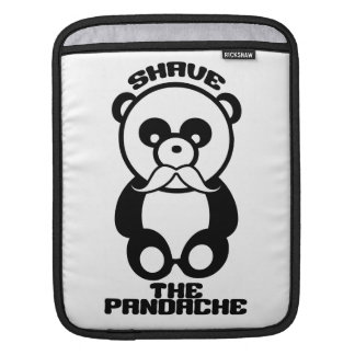 The Pandache custom color iPad sleeve