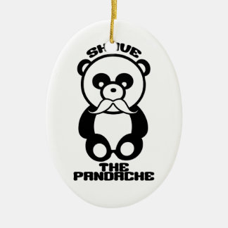 The Pandache custom color ornament