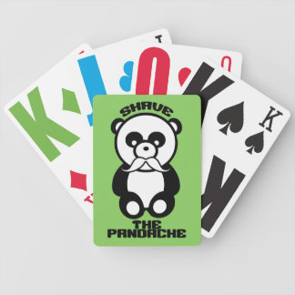 The Pandache custom color playing cards