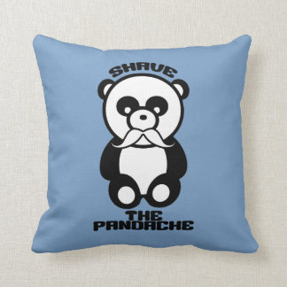 The Pandache custom color throw pillow