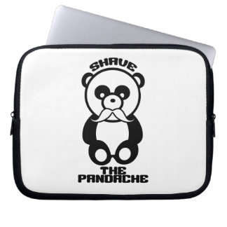 The Pandache custom laptop sleeve