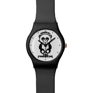 The Pandache (Panda mustache) custom watches