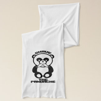 The Pandache (Panda mustache) scarfs Scarf