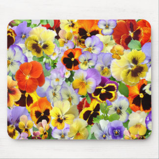 The Pansy Collection Mouse Mat