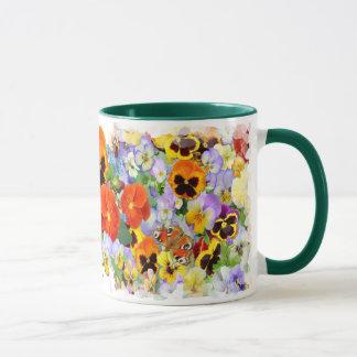 The Pansy Collection Mug