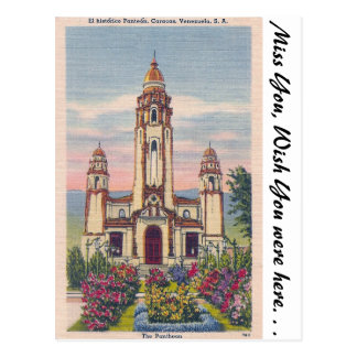 The Pantheon, Caracas, Venezuela Postcard