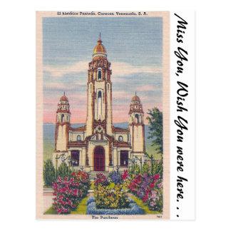 The Pantheon, Caracas, Venezuela Post Card