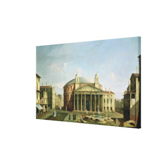 The Pantheon in Rome Canvas Print