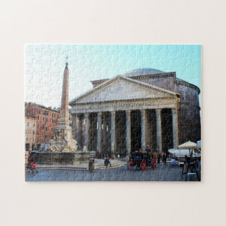 The Pantheon in Rome, Italy Jigsaw Puzzle