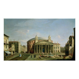 The Pantheon in Rome Poster