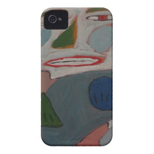 The Pantomime - by S.B. Eazle iPhone 4 Cover