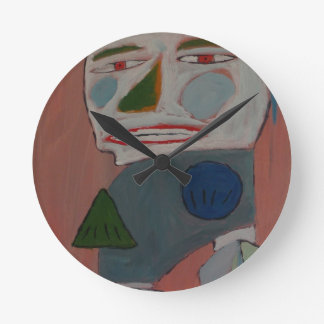 The Pantomime - by S.B. Eazle Wall Clocks