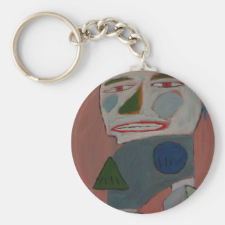 The Pantomime - by S.B. Eazle Key Chain