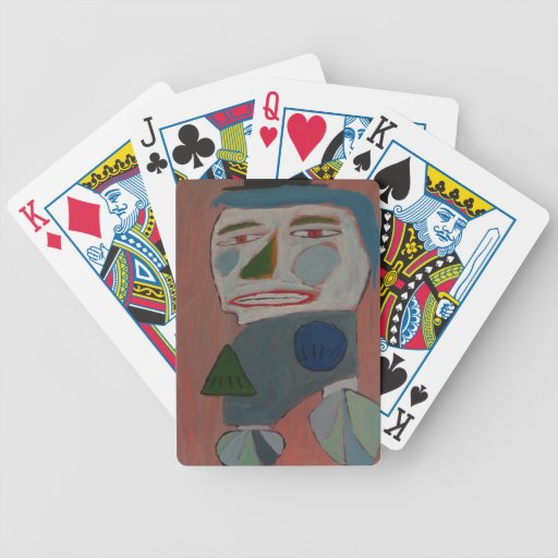 The Pantomime - by S.B. Eazle Poker Cards