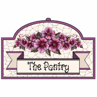 """The Pantry"" - Decorative Sign - 33 Photo Sculpture Decoration"