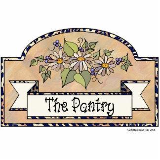 """The Pantry"" - Decorative Sign Photo Sculpture Decoration"