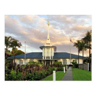 The Papeete Tahiti LDS Temple Postcard