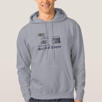 The paper hoodie