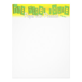 The Paper House Letterhead Flyers