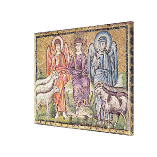 The Parable of the Good Shepherd Canvas Print