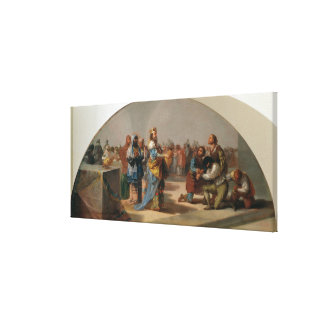 The Parable of the Guests at the Wedding Canvas Print