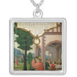 The Parable of the Prodigal Son Square Pendant Necklace