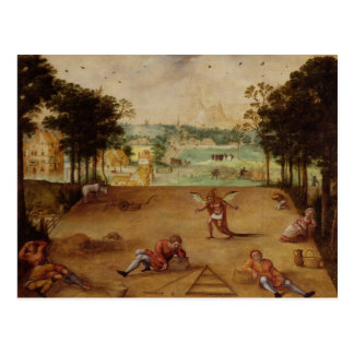The Parable of the Wheat and the Tares, 1540 Postcard