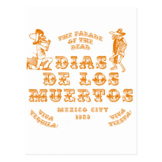 The Parade of the Dead Post Card