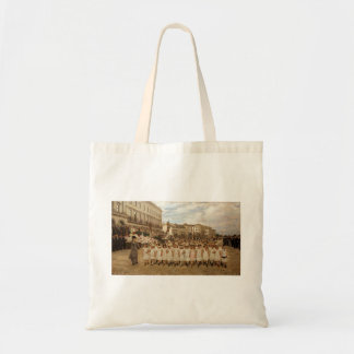 The Parade of the Schools by Jan Verhas Canvas Bag