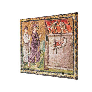 The Paralytic of Capharnaum Canvas Print