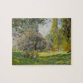 The Parc Monceau - Claude Monet Jigsaw Puzzle