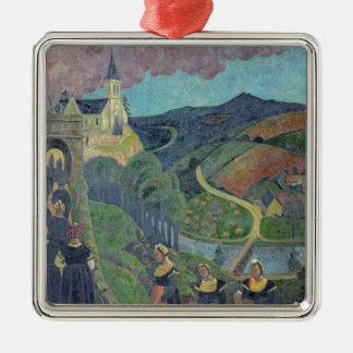 The Pardon of Notre-Dame-des-Portes at Christmas Ornament