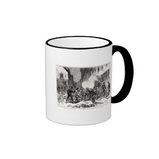 The Paris Commune: A Barricade at Issy Coffee Mug
