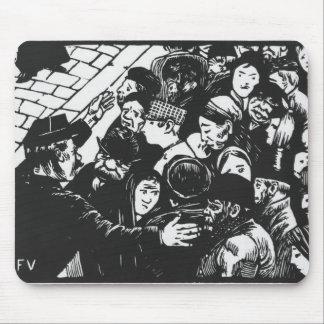 The Paris crowd, 1892 Mouse Pads