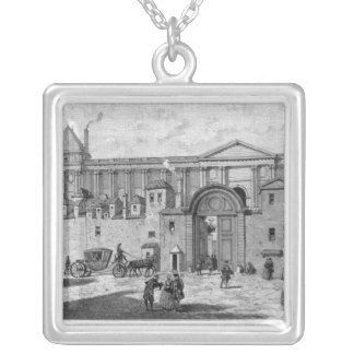 The Paris Post Office Silver Plated Necklace