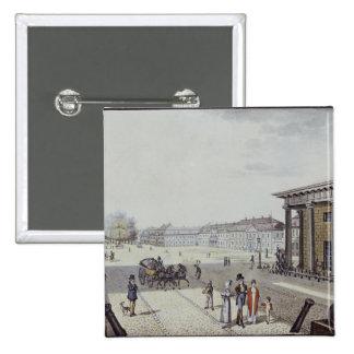 The Paris Square, Berlin 15 Cm Square Badge